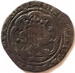 Edward III halfgroat