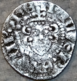 Henry III long cross penny Canterbury