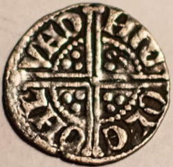 voided long cross penny Henry III