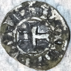 Philips III of IV, Obole tournois, 1280-1290
