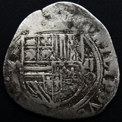 Philips II, 2 reaal, Mexico, z.j. 1564-67