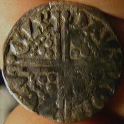 Henry III, voided long cross penny, Ierland, Dublin, z.j. ca. 1251-1254