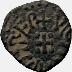 Wigmund, Northumbrian copper penny, York, z.j. ca 848-858