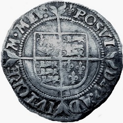 Elizabeth I, Groat, Tower Londen, z.j. ca 1558-1560